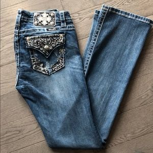 Miss Me boot cut Jeans Size 30